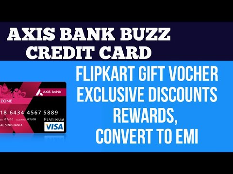 Axis Bank Buzz Credit Card