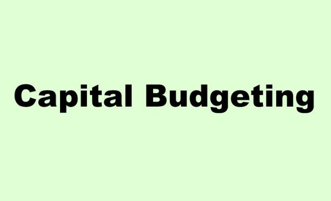 capital-budgeting-techniques